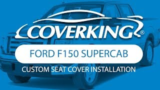 How to Install 2009-2012 Ford F150 SuperCab Custom Seat Covers