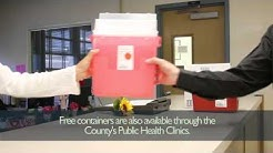 "Free ""Sharps"" Containers and Disposal Offered by County"