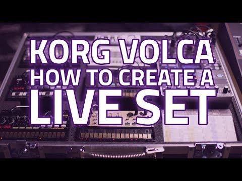 Korg Volca - How To Create A Live Set. Ft Korg Volca Beats & More