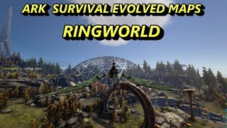 Ark Survival Evolved MAPS - RINGWORLD