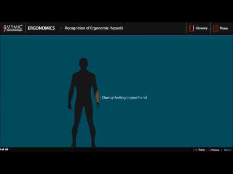 Ergonomics Training | Osha Safety Training | MYMIC