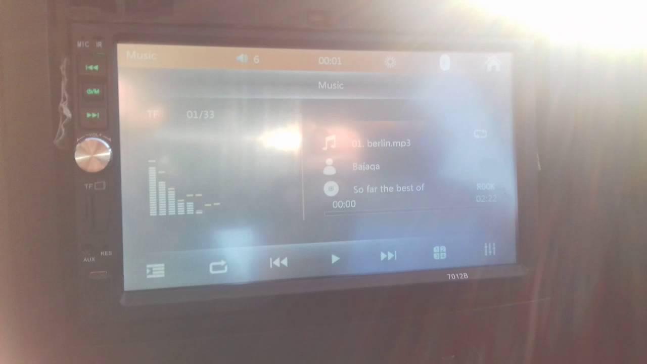 7012b car mp5 player restarting