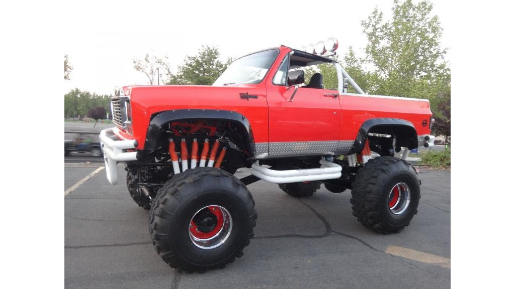 Gmc Truck For Sale >> 1973 Chevrolet Blazer K5 Monster Truck - YouTube
