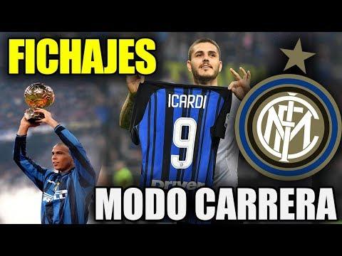 ¡¡FICHAJES!! ¡¡NUEVA AVENTURA CON ICARDI!! | FIFA 18 Modo Carrera ''Manager'' Inter de Milán - EP 1