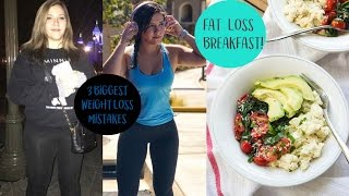 3 BIGGEST WEIGHT LOSS MISTAKES   My Favorite FAT LOSS Breakfast
