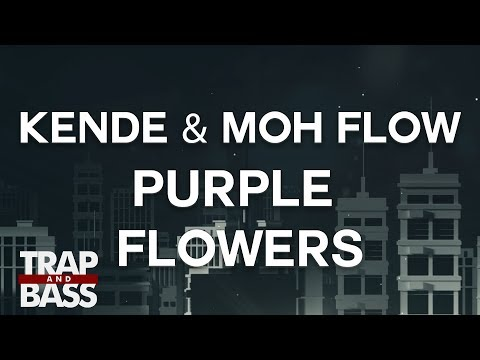 Kende & Moh Flow - Purple Flowers