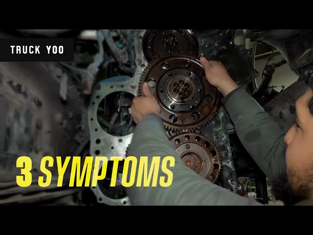 VOLVO D13 bad idler gear. 3 symptoms. Everything you need to know. Part 2