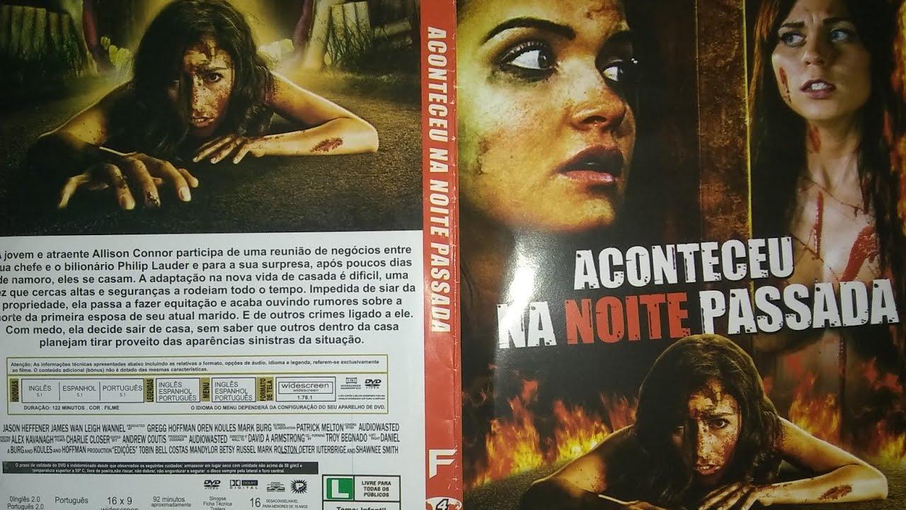 ACONTECEU NA NOITE PASSADA FILME DE SUSPENSE DUBLADO