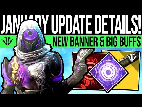 Destiny 2 | JANUARY UPDATE & SUPER CHANGES! Quest Updates, New Exotics, Sandbox & Iron Banner! thumbnail