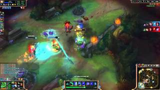 League Of Legends - 005 - Zac vs Aatrox epic duel & Base Race