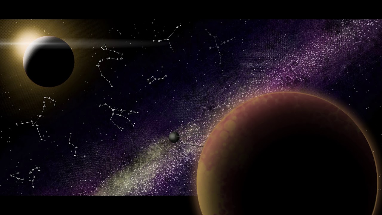 """🎼 SPACE MUSIC """"Slowly Through Space"""" 