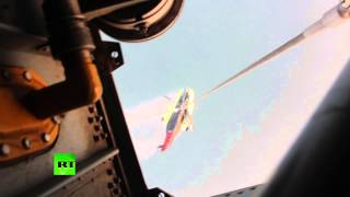 Рухнувший в Охотское море вертолет Ми-8 перевезли на материк(Вертолёт Ми-26 МЧС России начал перевозку на материк Ми-8, который потерпел крушение в Охотском море у Шантар..., 2015-08-19T14:02:20.000Z)