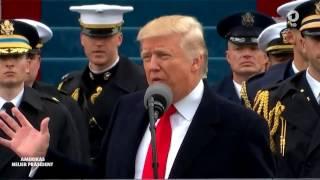 US Präsident Trump hält erste Rede nach Vereidigung Deutsch