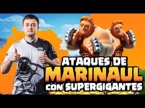 LOS NUEVOS SUPER GIGANTES EN ACCION: MARINAUL DESTRUYENDO TODO!!!