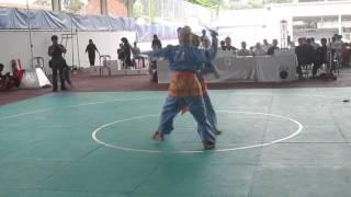 Pencak Silat Ganda Putri Lampung 2014