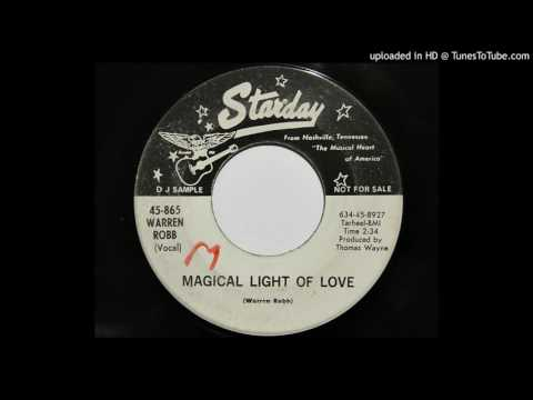 Warren Robb - Magical Light Of Love (Starday 865)