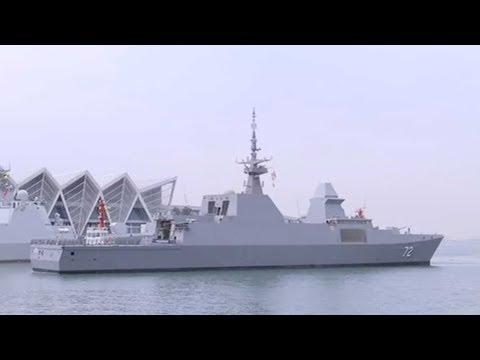Singapore frigate Stalwart arrives in Qingdao