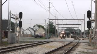 Railfanning Hammond, Indiana: South Shore Line & State Line Crossing, 06.10.13