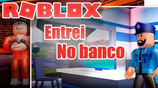 ROBLOX-ROBBING The BANK and JEWELRY on Jailbreak