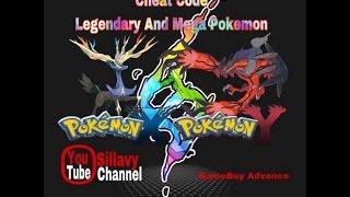 Cheat Code All Legendary and Mega Pokemon, Pokemon Mega Emerald X And Y Edition GBA