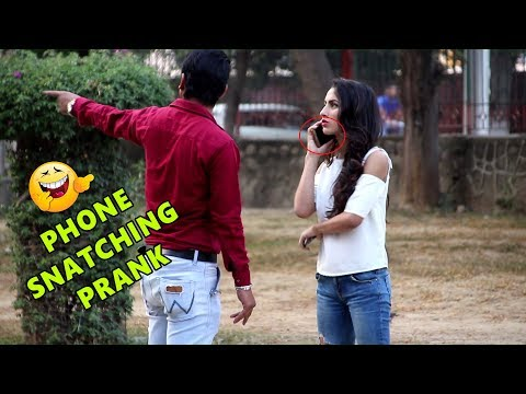 Hot Punjabi Girl Phone Snatching Prank | Pranks in India