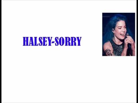Halsey - Sorry Lyrics