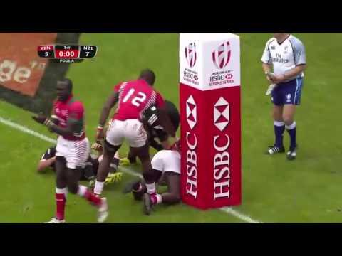 New Zealand vs Kenya Paris 7s 2016
