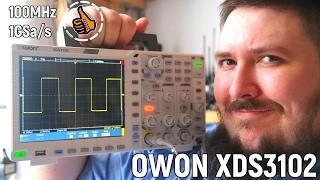 Цифровой осциллограф OWON XDS3102 обзор - уголок радиолюбителя