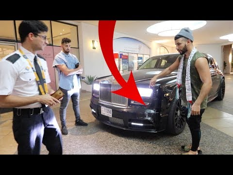 SOMEONE CRASHED OUR $500,000 ROLLS ROYCE! (NOT CLICKBAIT)