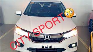 2020 HONDA CITY 1.5 SPORT CVT ( Philippines ) Taffeta White