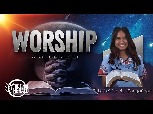 Worship With Gabrielle M Gangadhar   Enduring Life's Toughest Times