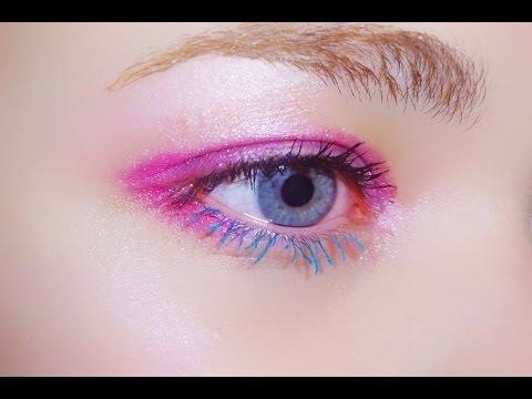 Harajuku Eyes Make,up Tutorial (Miss Manga)