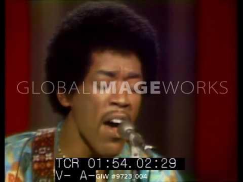 Jimi Hendrix performs on The Dick Cavett Show