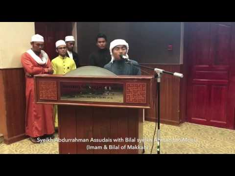 Meniru 3 suara Imam Makkah di USIM Malaysia   Taqy Malik