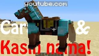 Cara menaiki dan memberi nama kuda MINECRAFT (MUDAH!!!)