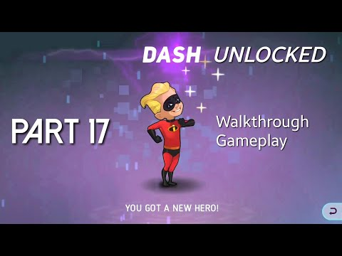 Disney Heroes Battle Mode DASH UNLOCKED PART 17 Walkthrough Gameplay - Android/iOS