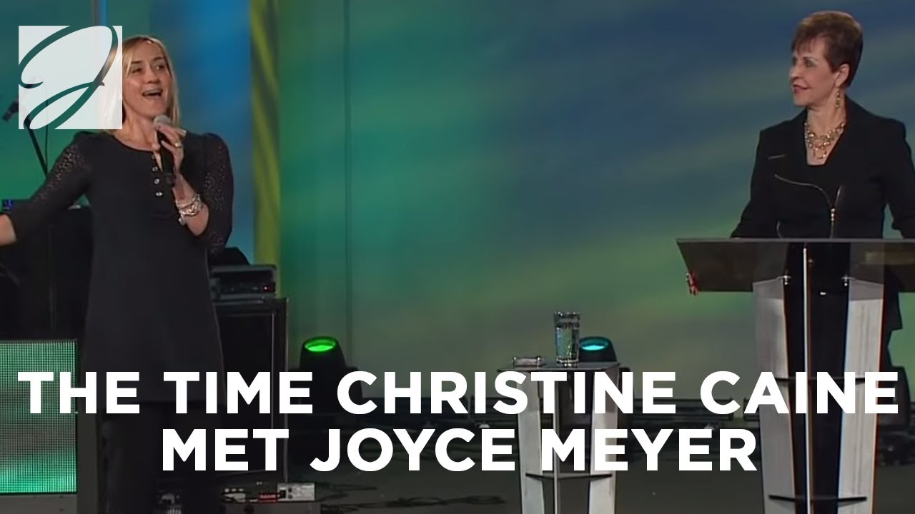 The Time Christine Caine Met Joyce Meyer