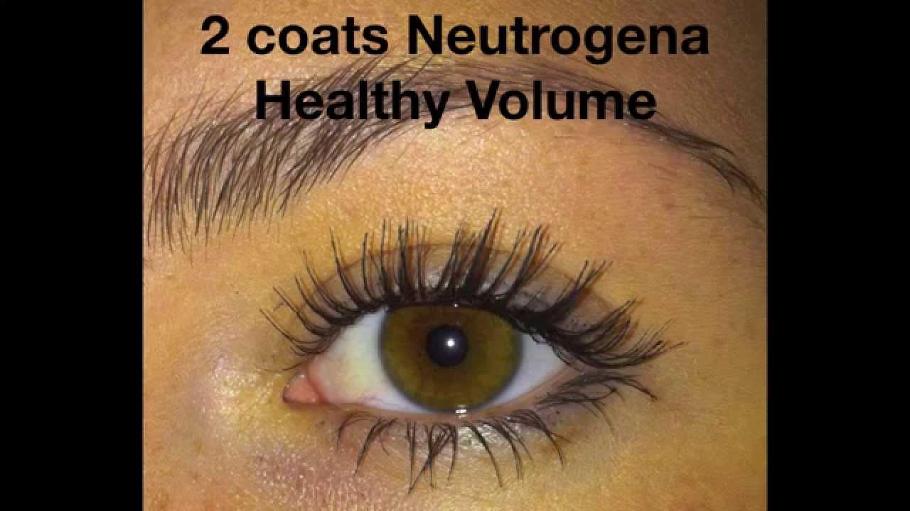 8e1dbca470e Mascara Review: Neutrogena Healthy Volume - YouTube