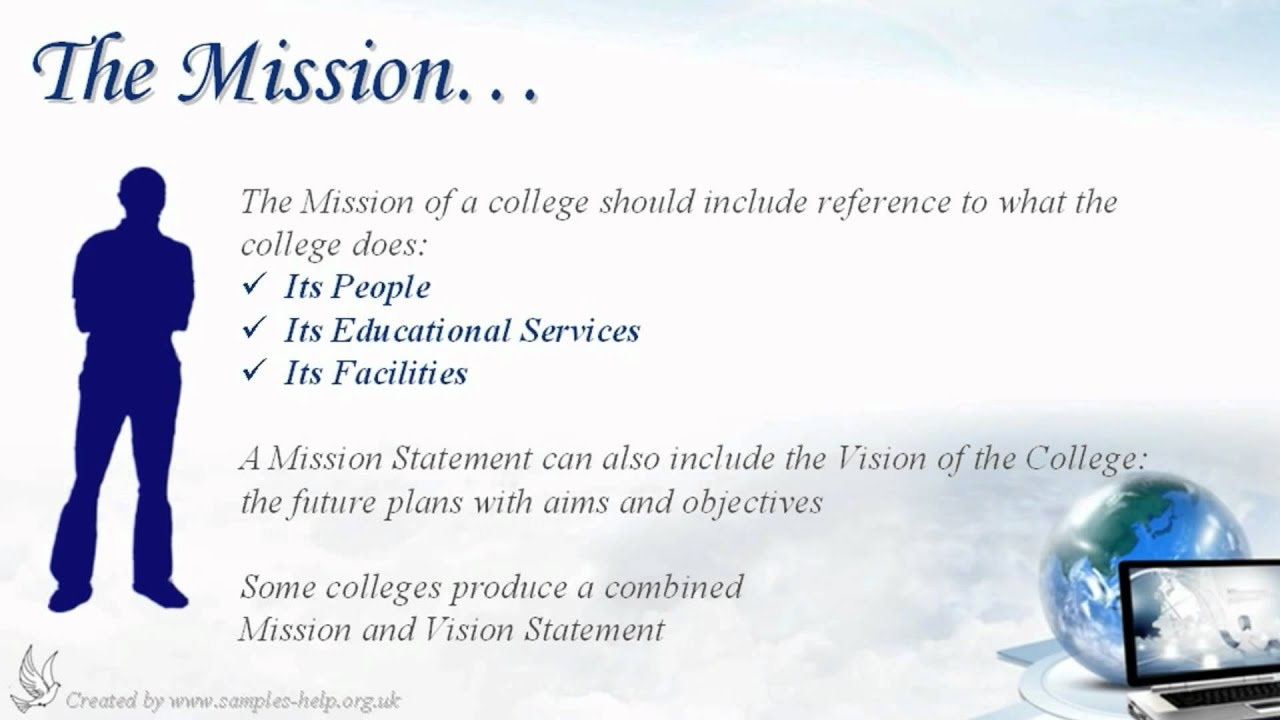 Church Mission And Vision Statement Examples Choice Image Example
