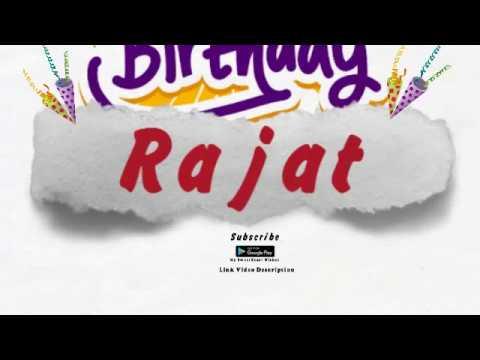 Happy Birthday Rajat