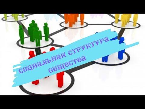 Обществознание 8 класс $13 Социальная структура общества
