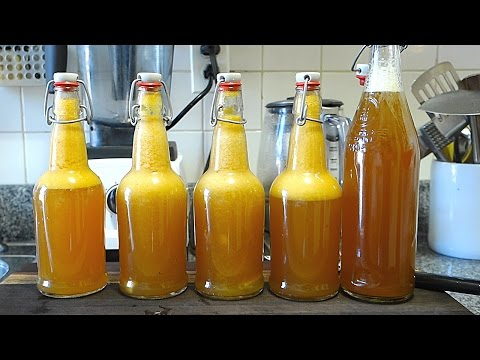 Beginners Guide To Fermentation: Bottling + Flavoring Kombucha