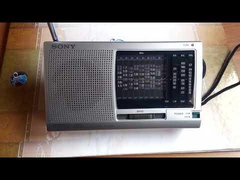 NHK Radio Japan 15290 khz Sony ICF-SW11