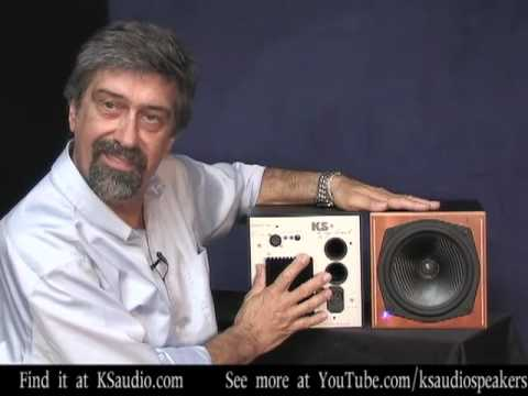 Simaen Skolfield introduces KS   Digital Studio Monitors coaxial speakers C 8