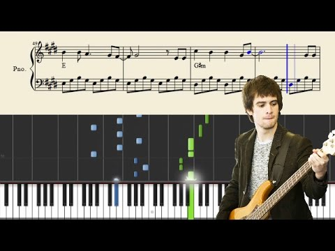 Panic! At The Disco - Memories - Piano Tutorial + Sheets