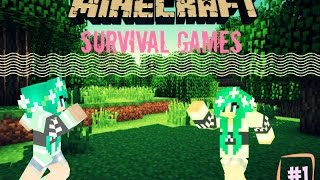 GamingwithDestiny Plays Minecraft Survival Games(episode 1)- My team died!