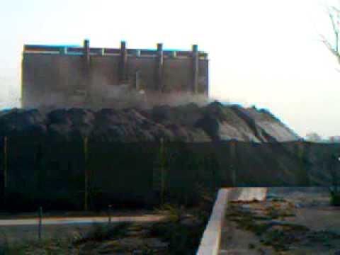 Contaminación en punta colorada polvo de hierro de minera
