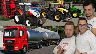 """Nowy Transporter! I siewy soi we trzech! ✔FS19 """"od Zera do Farmera""""#205 MafiaSolecTeam"""