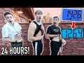 WHO CAN LOSE THE MOST WEIGHT IN 24 HOURS - CHALLENGE