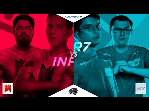 [Retransmisión] Infinity Esports vs Rainbow7 - SemiFinal - Liga Movistar Latinoamérica